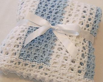 Pastel Striped Baby Blanket