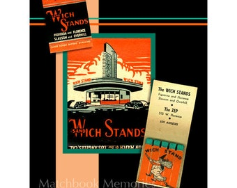 Halloween Drive In Matchbook PRINT Decor 1950s Teen Hangout Adult Halloween Wall Decor Matchbook Art The Wich Stand Halloween Witch Decor