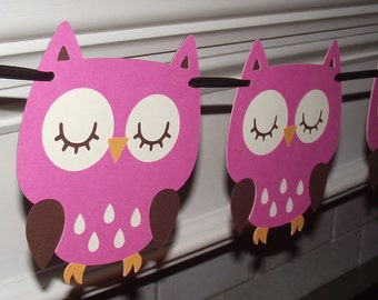 Popular items for custom owl decor on etsy for Baby owl decoration