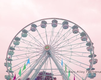 Ferris Wheel 8x10 photo- May 2011 at Saint Mary's Festival in Michigan