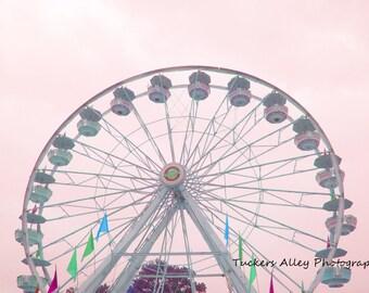Ferris Wheel 8x10 photo- May 2011 at Saint Mary's Festival in Michigan