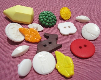 Vintage Buttons Assortment