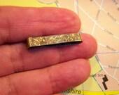 Vintage Sterling Silver Lingerie Clip Signed