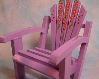 Doll Chair Lavender Pink