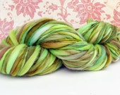 GREEN THUMB  -  Single Ply Merino Handspun Yarn 104yards