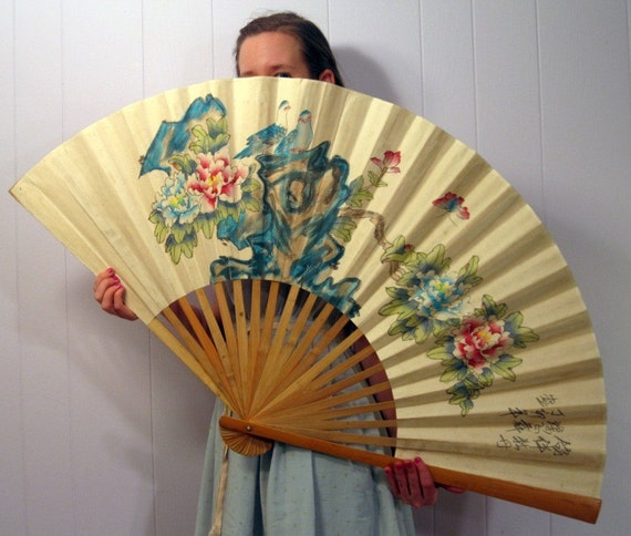 Large Hanging Wall Fan