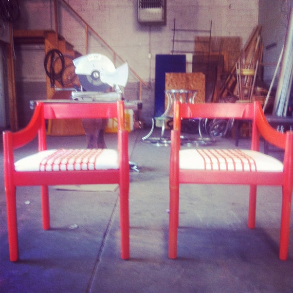 SALE... Thonet Industries, Inc. Upcycled Chairs
