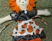 Raggedy Halloween Doll