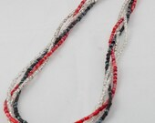 Seed Bead Rope Necklace