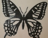 Rustic Butterfly  Wall Decor Recycled Steel