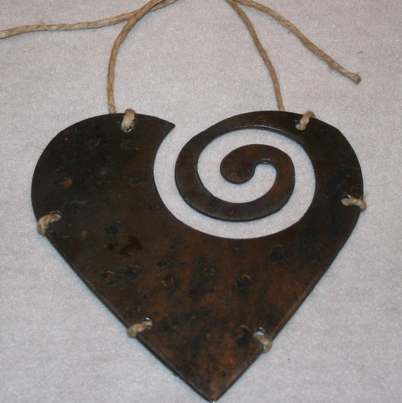 Wrapped In Love Rustic Heart