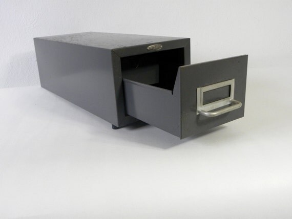 Cole-Steel Industrial Index Card File
