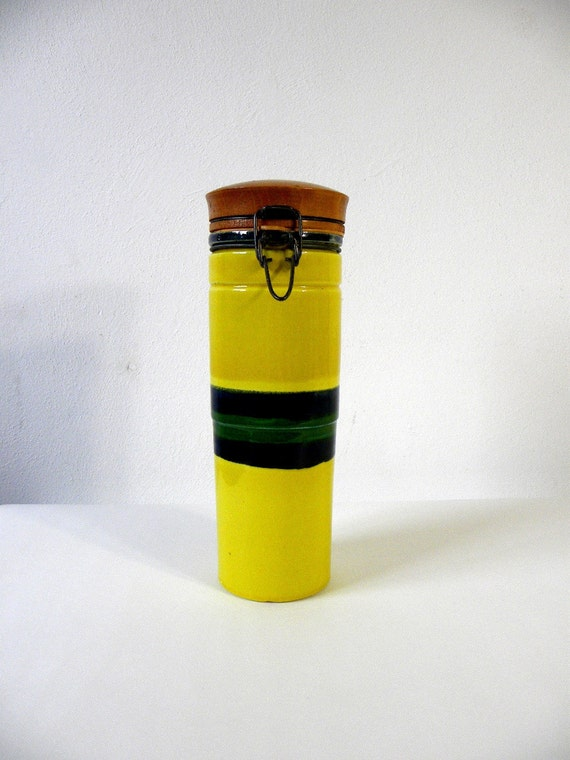 SALE-Raymor Baldelli Ceramic Canister