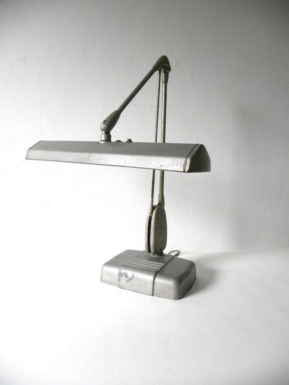 Vintage Dazor Industrial Desk Lamp
