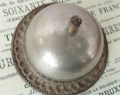 Antique Victorian HOTEL BELL - BRASS - Bellboy Service Bell - Desk Bell - Collectible