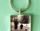 Beautiful Custom Photo Keychain, Unique Gift