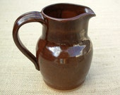 Pitcher- Rustic Red