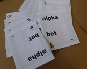 alpha bet - a wordplay zine - issue one