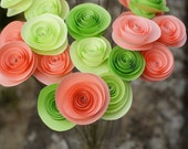 Spring Fling - Paper Rosettes Bouquet Spring Collection
