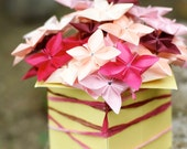 Pinky Do- Blossoming Box Origami Floral Arrangement