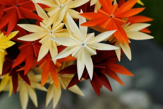 Autumn Celebration Origami Bouquet