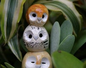 Clay Owl Friends: Harry Potter Inspired Owlery
