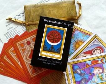 GIFT SET - The Incidental Tarot, Tarot Cards, Tarot Deck, Tarot Gifts