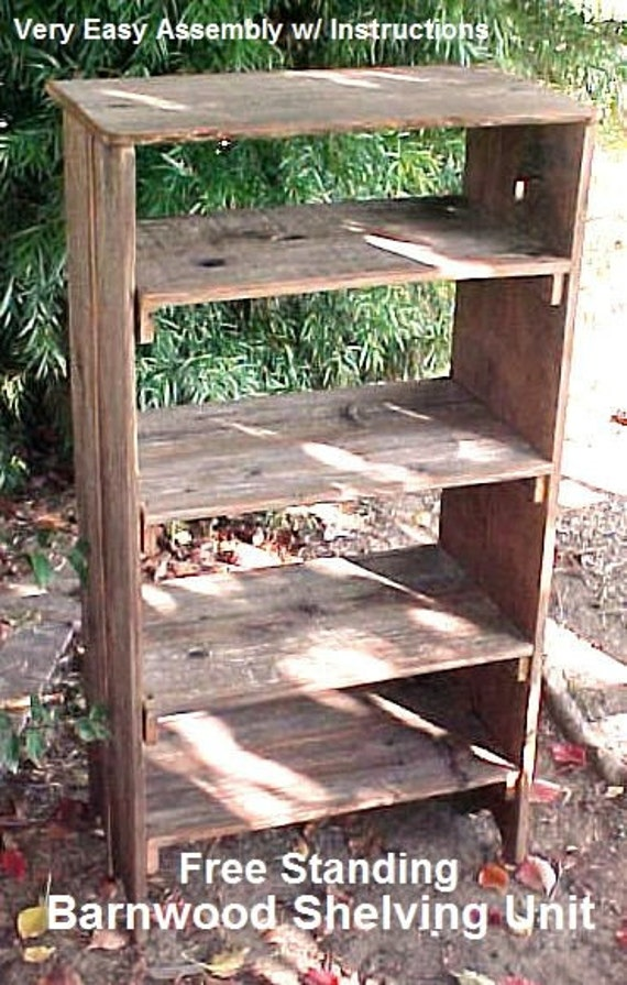 Sale barnwood shelving was 7995 by oldglorywoodcrafts for Barnwood shelves for sale