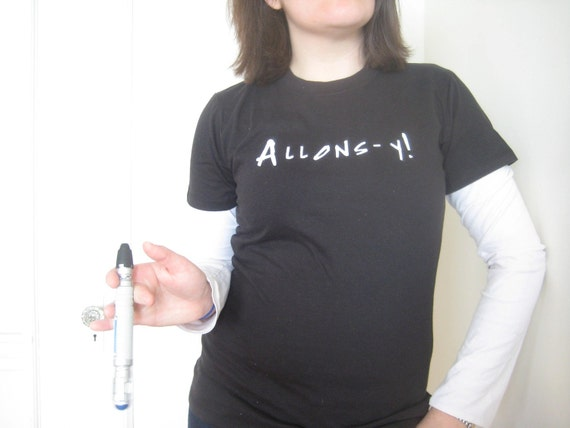 Allons-y - Doctor Who T-Shirt (Women's Medium)
