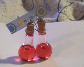 Health Potion Earrings (Hypo-Allergenic)