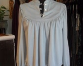 Upcylced  Vintage Draping Crop Top OS