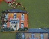 Custom House paintings or Ornaments, Extra Detail 5  inches up to 7 inches.Please place orders early