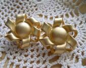 Erwin Pearl Goldtone Clip On Earrings