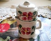 Vintage Tea Pot Salt and Pepper Shakers - Collectible
