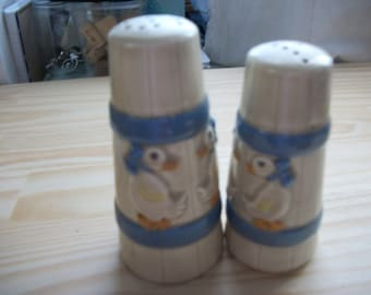 Vintage Country Duck Salt and Pepper Shakers