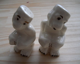 Vintage Monkey Salt and Pepper Shakers