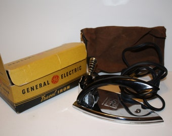 Vintage General Electric Travel Iron