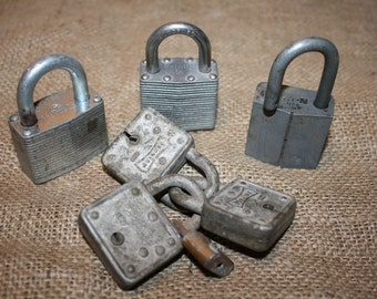 Vintage Locks - Master, Yale, Fortress, Walsco, Hongrow