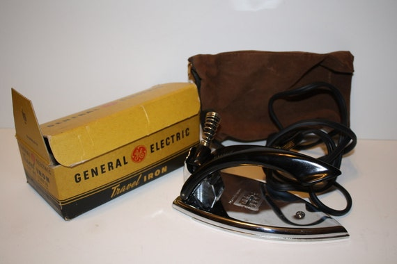 General Electric Iron ~ Vintage general electric travel iron