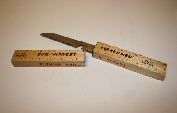 Floating Fish Knife with Box for Dishonest and Honest Fishermen