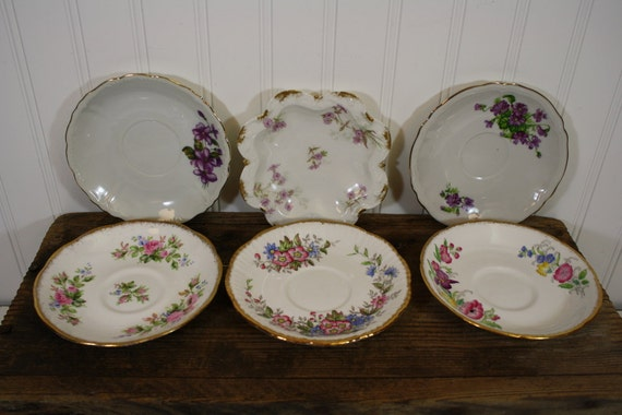 Bone China Saucers - set of 6