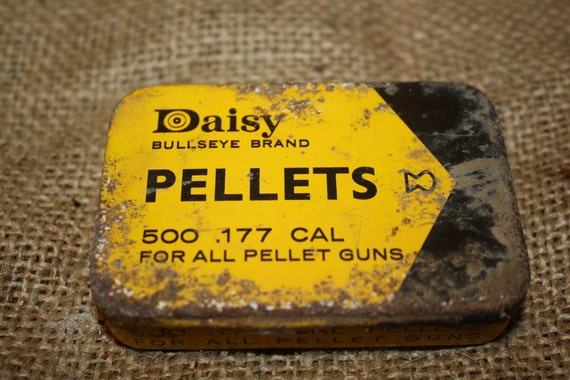 Vintage Daisy Bullseye Brand Pellets