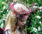Berry Luscious Headpiece