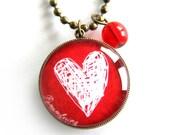 Love Christchurch Pendant Necklace