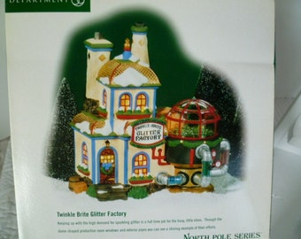 Department 56 Snow Village New England Series Porcelain Hand-Painted Electric Christmas Decorations with Original Box