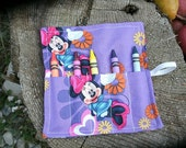 Minnie Mouse Crayon Roll Party Favor