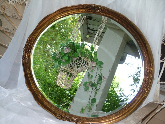 Large Oval Mirror CHOOSE Color or HUGE Oval Gold Wall Mirror or Chalkboard Weddings, Nursery, Home Decor.31 x 25