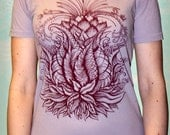Purple Lotus Flower Shirt