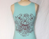 Bright Blue Sky Lotus Tank
