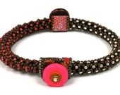 Designs-Bead Kit Only-Circle of Gems Single Bracelet Kit-Bubble Gum-Pattern Sold Separately